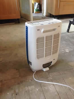 In-garage dehumidifiers for car storage