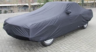 Luxury Satin with Fleece Lining Indoor Car Cover for Mercedes SL R231