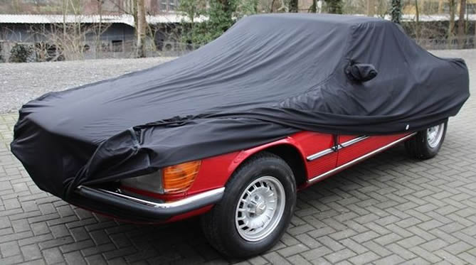 R170-171 Super Soft Stretch Indoor Car Cover for Mercedes SLK
