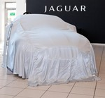 Silky Launch 'Reveal' Car Cover - Silver