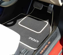 New Car Mats For BMW Car Overmats For Tesla
