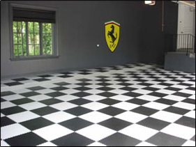 Pvc Garage Floor Tiles From Car Cover Shop