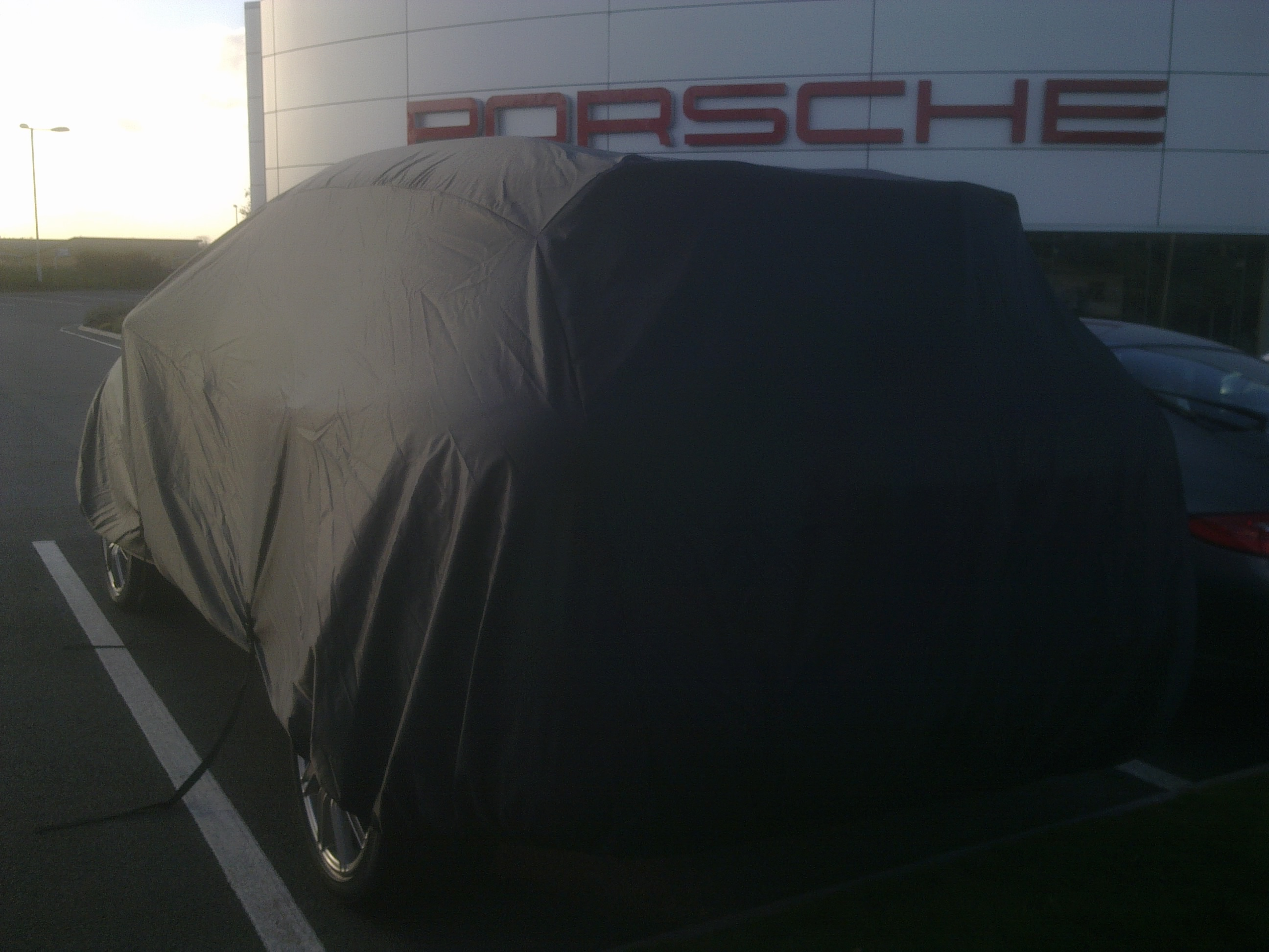 PREMIUM HEAVYDUTY FULLY WATERPROOF CAR COVER COTTON LINED PORSCHE 911 TURBO S