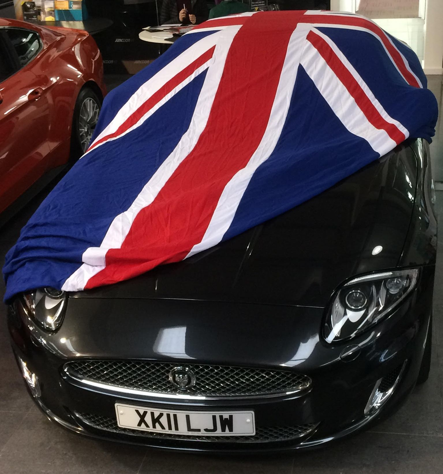 Cheap Car Covers >> British Flag (Union Jack) Indoor car covers